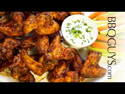Smoked & Fried Chicken Wings Recipe- Jay Ducote's Barbeque Sauce - BBQGuys.com how-to