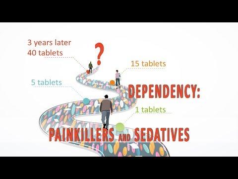 (full) Abhängigkeit: Schmerzmittel und Beruhigungspillen