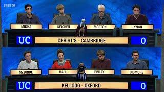 Download University Challenge S45E07 - Christ's College, Cambridge vs Kellogg College, Oxford. Video