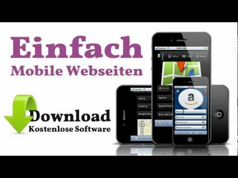 Easy Mobile Homepage - Installation der Software