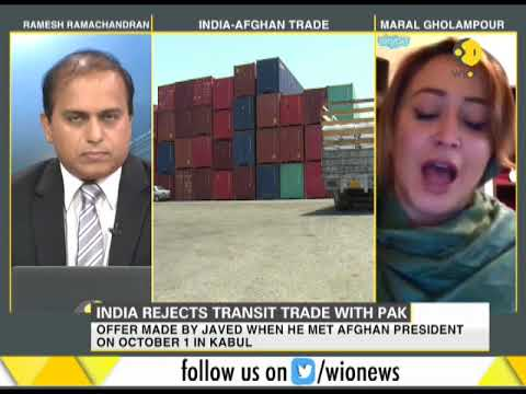India rejects offer on talks over transit trade with Afghanistan