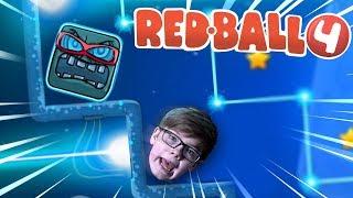 BOSS BATTLE!!!   RED BALL 4 BATTLE FOR THE MOON   Part 2