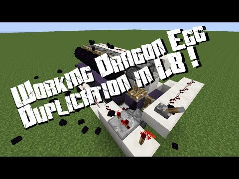 Minecraft Invention #11: Dragon Egg Duplicator for 1.8 (14w06b)