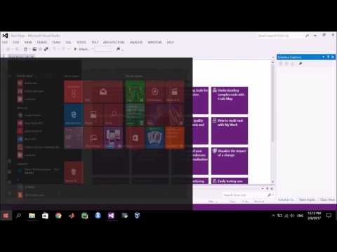 1 - 1 | C++ Programming | Creating New Project in Visual Studio (Arabic شرح بالعربي)