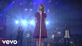 Taylor Swift  Love Story Live On Letterman