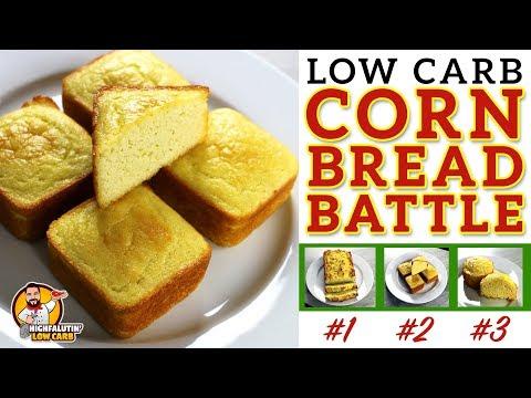 The BEST Low Carb Cornbread Recipe - EPIC CORN BREAD BATTLE - Testing 3 Keto Cornbread Recipes
