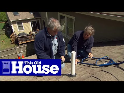 How to Fix a Leaking Rooftop Vent Pipe - This Old House