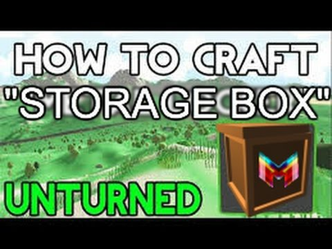 Unturned: How to craft a