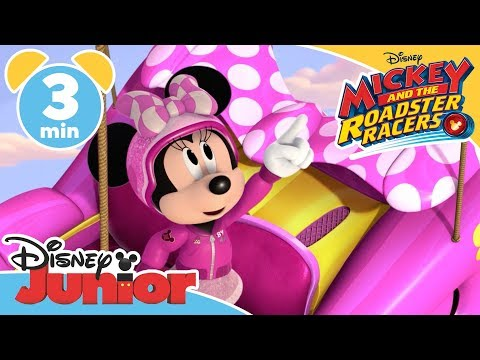 Mickey and the Roadster Racers | The Big Roadster Balloon Race!  - Magical Moment | Disney Junior UK