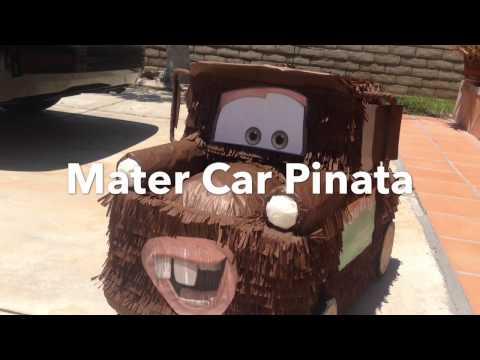 Cars Piñata Mater