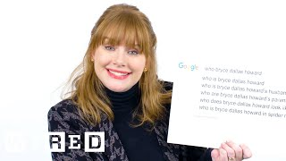 Bryce Dallas Howard Answers the Web