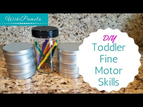 DIY Fine Motor Skills Activities for Toddlers