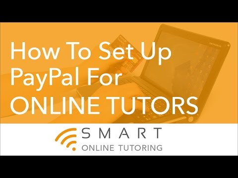 How To Set Up PayPal For Online Tutors