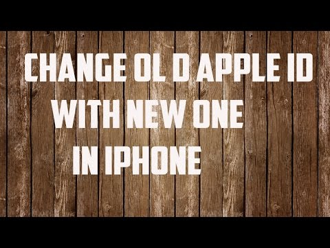 iPhone 6/6s: Change old apple id with new one in iPhone App store and iTunes