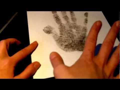 Handprint Instructions for Scientific Hand Analysis with Jennifer Joy