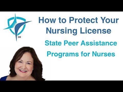 State Peer Assistance Programs for Nurses