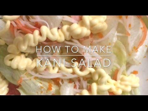 How to make KANI SALAD IN 3 EASY STEPS!! (japanese salad)
