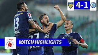 Chennaiyin FC 4 1 Jamshedpur FC Match 65 Highlights Hero ISL 2019 20