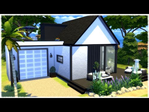 The Sims 4: Speed Build // CUTE HOUSE BY THE WATER // NO CC