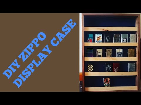 How to make a Zippo display case - DIRESTA Style!!