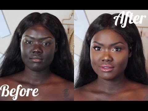 HOW TO: MATCH YOUR FACE TO YOUR BODY || DARK SKIN HYPERPIGMENTATION