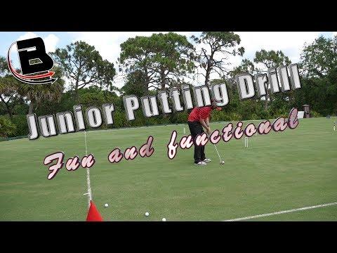 Junior Putting Drill