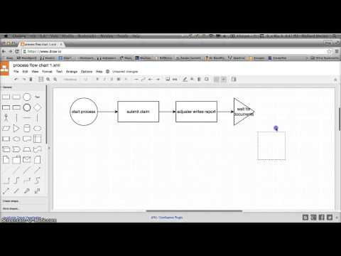 BUSA 321 - Create Process Flow Chart using draw.io