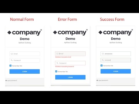 Change Form Color Jquery Validation On CodeIgniter