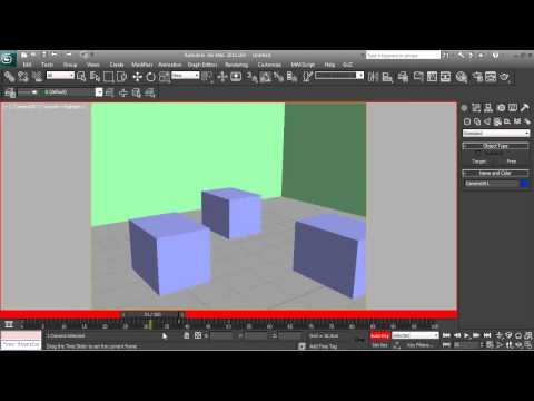 3Ds Max Tutorial - Basic Camera Setup & Animation