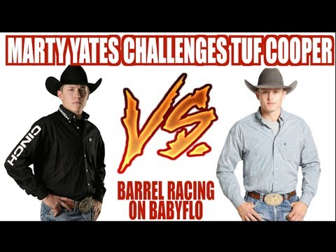 MARTY YATES CHALLENGES TUF COOPER!! // NFR DAY 7