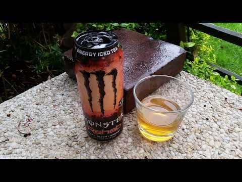 LET´S DRINK: NEW MONSTER REHAB PEACH TEA (DE / 2017)