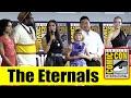 THE ETERNALS 2019 Marvel Comic Con Panel Angelina Jolie Selma Hayek Richard Madden Don Lee