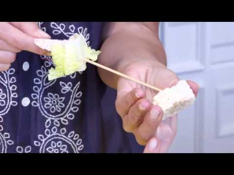 Texas Style Salad Skewers: Raw Food Recipe