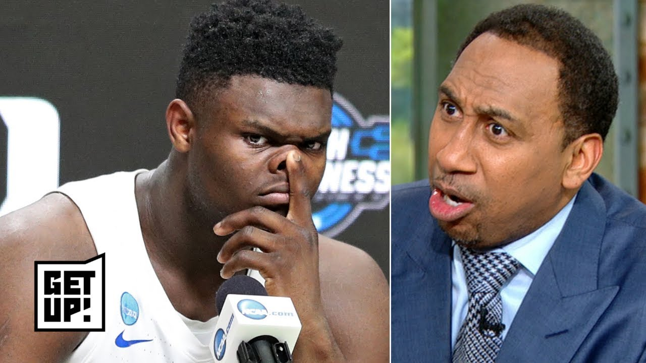 'It was Zion or nothing!' - Stephen A. storms off set, pouts over Knicks losing top pick | Get Up!