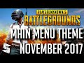 Download lagu *NEW* Playerunknown's Battlegrounds | Main Menu Theme NOV 2017