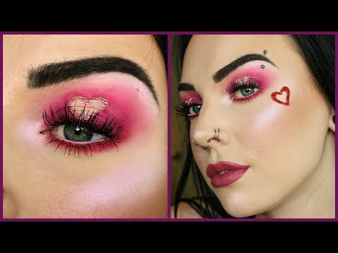 HEART EYES Valentine's Tutorial! Collab with Nicole Runnels!