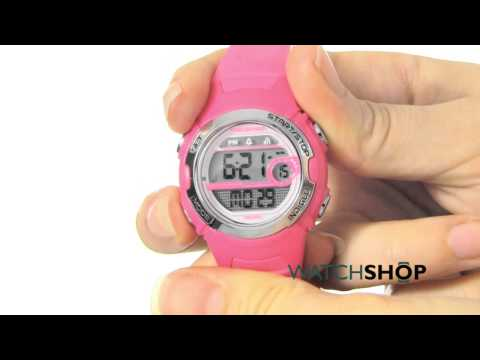 Timex Ladies' Marathon Digital Mid Size Alarm Watch (T5K771)