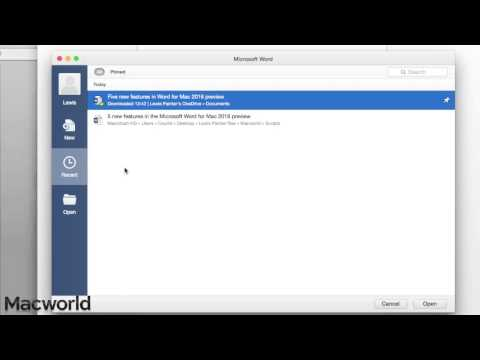 5 new features in Word for Mac 2016