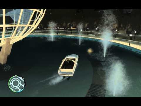 GTA IV: The Boat In The Park