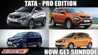 Tata cars get Sunroof | Hindi | MotorOctane