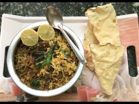 Chana Dal Pulao in Cooker   चना दाल पुलाव   Indian Pulao Recipe..
