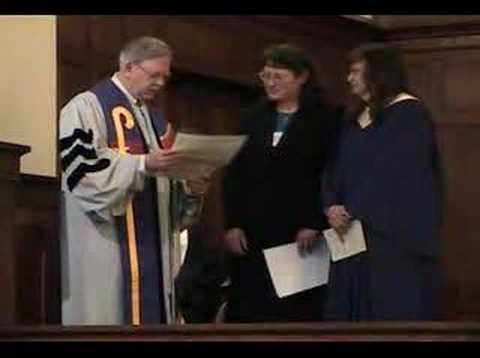 Ministry License Ceremony 1-20-08