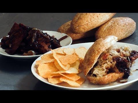 Teriyaki Chicken Fajita Sandwiches   March Madness 2018 Collaboration