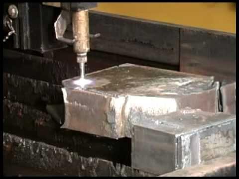 Pierce & Cut 4inch Thick Steel - ESAB Oxyfuel Cutting