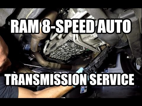 Dodge RAM 1500 - ZF 8 Speed Automatic Transmission - Fluid & Filter Change