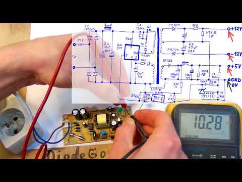 How Does a Switching Power Supply Work 2 (measurements)