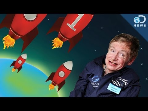 Hawking: We Need to Leave Earth