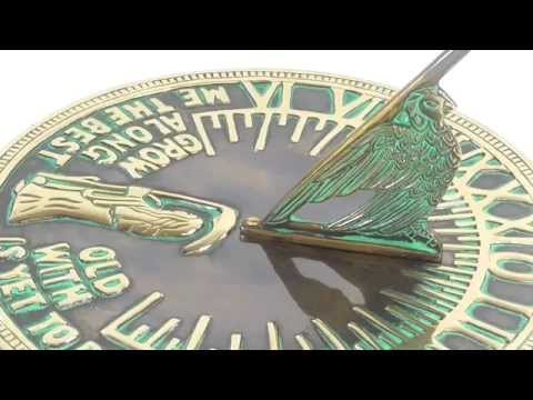The Large Old Father Time Sundial