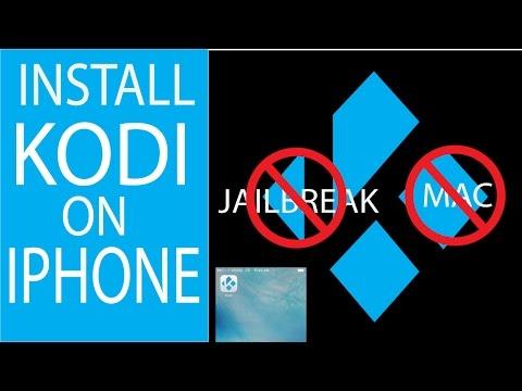 INSTALL KODI ON IPHONE/IPAD NO JAILBREAK NO MAC EASIEST WAY!