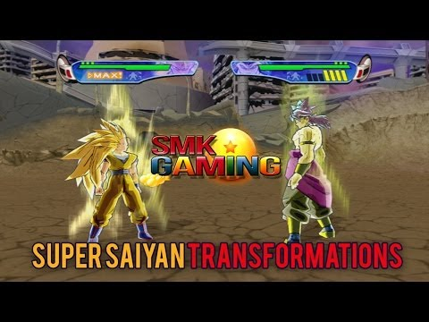 Dragonball Z Budokai 3 HD - Super Saiyan Transformations